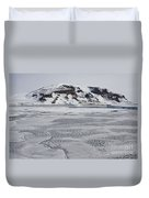 Brown Bluff, Antarctica Duvet Cover