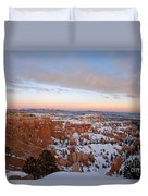 Bryce Canyon National Park Utah Duvet Cover