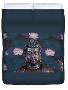 Buddha Statue Denver Duvet Cover