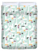 Building Blocks Duvet Cover by Laurence Lavallee