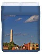 Bunker Hill Monument - Boston Duvet Cover