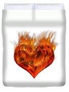 Burning Love  Brennende Liebe Duvet Cover