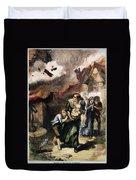 Burning Of Norfolk, 1776 Duvet Cover