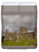 Burrishoole Friary, Ireland Duvet Cover