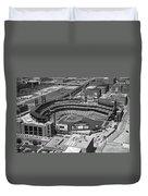 Busch Stadium Saint Louis Mo Duvet Cover