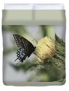 Butterfly On Thistle Duvet Cover