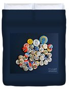 Buttons Duvet Cover