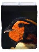 Cabots Tragopan Pheasant Duvet Cover