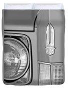 Cadillac Headlight Emblem Duvet Cover