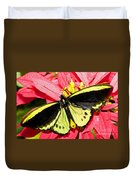 Cairns Birdwing Butterfly Duvet Cover