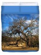 California White Oak Duvet Cover