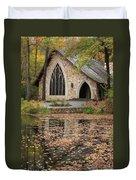 Callaway Gardens Chapel-pine Mountain Georgia Duvet Cover