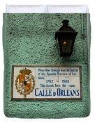 Calle Orleans Duvet Cover