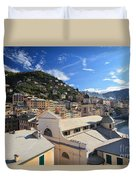 Camogli. Italy Duvet Cover