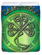 Campbell Ireland To America Duvet Cover