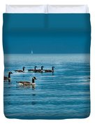 Canadian Geese Duvet Cover