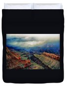 Canyon Clouds Duvet Cover