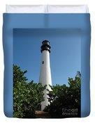 Cape Florida Light Duvet Cover