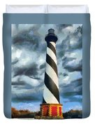 Cape Hatteras Lighthouse Duvet Cover