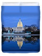 Capitol Reflecting Pool Duvet Cover