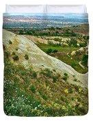 Cappadocia Landscape-turkey Duvet Cover