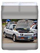 Car Show 043 Duvet Cover