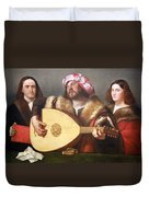 Cariani's A Concert Duvet Cover