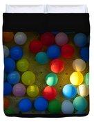 Carnival Balloons Duvet Cover