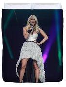 Singer Carrie Underwood Duvet Cover