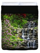 Cascading Waterfall Duvet Cover by Elena Elisseeva