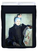 Cassatt's Portrait Of An Elderly Lady Duvet Cover