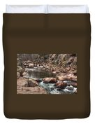 Castor River Duvet Cover