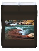 Castor River Duvet Cover