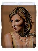Cate Blanchett Painting  Duvet Cover