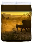 Cattle Drive 6 Duvet Cover