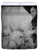 Cavalry Rides Again Duvet Cover