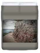 Cave In Rock Illinois Duvet Cover