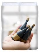 Celebration Champaign Bubbles Duvet Cover
