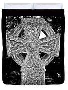 Celtic Cross Duvet Cover by David Pyatt
