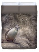 Center Of Attraction Duvet Cover