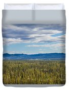 Central Yukon T Canada Taiga And Ogilvie Mountains Duvet Cover