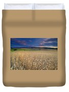 Cereal Fields At Sunset Duvet Cover