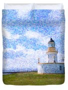 Chanonry Point Lighthouse Duvet Cover
