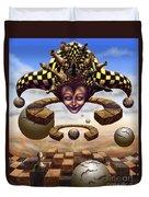 The Chess Master Duvet Cover