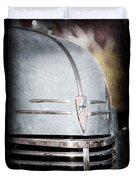 Chevrolet Hood Emblem - Grille Emblem Duvet Cover