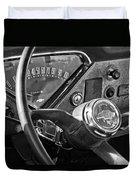 Chevrolet Steering Wheel Emblem Duvet Cover