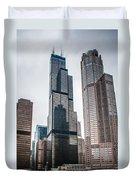 Chicago Architecture Duvet Cover