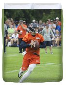 Chicago Bears Qb David Foles Training Camp 2014 05 Duvet Cover