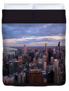 Chicago Il. Skyline, May 2009 Duvet Cover