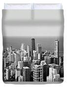 Chicago - That Famous Skyline Duvet Cover
